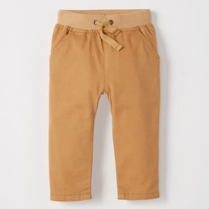 NWT Hanna Andersson Easy Chinos in Peached Twill